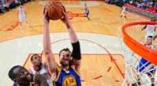 فوز غولدن ستايت على هيوستن روكيتس بدوري كرة السلة الأمريكي للمحترفين