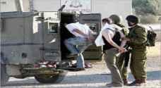 جيش الاحتلال يعتقل 8 فلسطينيين في الضفة الغربية