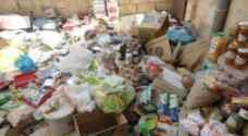 مادبا: ضبط مواد غذائية ومواد تنظيف منتهية الصلاحية