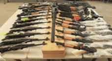 ضبط مخبأين للأسلحة والعبوات الناسفة في بغداد