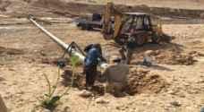 الحباشنة : سيتم ضخ المياه للشونة الجنوبية خلال 72 ساعة القادمة