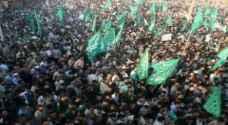 تظاهرات حاشدة لحماس بذكرى انطلاقتها في قطاع غزة