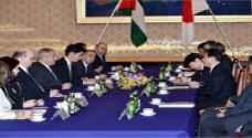 جوده يجري مباحثات مع وزير الخارجية الياباني