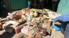 اتلاف 270 كغم مواد غذائية غير صالحة للاستهلاك بمادبا