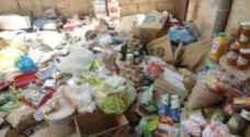 اتلاف مواد غذائية منتهية الصلاحية في دير علا