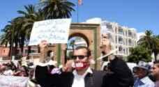 بائع متجول يحرق نفسه داخل محكمة في المغرب