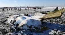 """6 ثوان من الصراخ في قمرة طائرة """"فلاي دبي """"قبل سقوطها"""