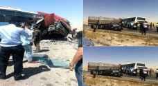 وفاة و 4 إصابات بحادث تصادم في الزرقاء