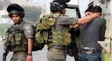 قوات الاحتلال تعتقل ثلاثة في الضفة