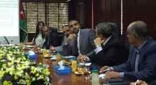 التطوير الاردنية وتجارة عمان يبحثان الفرص الاستثمارية بالبحر الميت