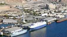 8%  نسبة تراجع إنتاجية ميناء العقبة في الثلث الأول من العام