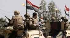مقتل 9 إرهابيين في حملات امنية بسيناء