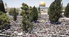 200 غزي إلى الأقصى للصلاة فيه بجمعة رمضان الثانية