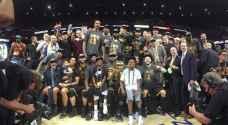 كليفلاند كافالييرز بطلاً لدوري كرة السلة الأمريكي