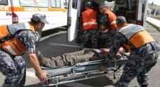 """وفاة و 14 إصابة بتصادم مركبة و """" كوستر """" في عمّان"""