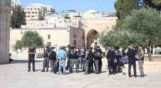 اقتحام المستوطنين للأقصى وإغلاق المسجد القبلي