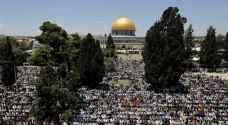 الاحتلال الإسرائيلي يمنع آلاف الفلسطينيين من أداء صلاة الجمعة الأخيرة من رمضان في المسجد الأقصى