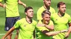 شفاينشتايجر يعود لتدريبات منتخب ألمانيا استعدادا لمواجهة فرنسا في نصف نهائي اليورو
