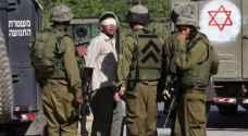 اعتقال جريح في مخيم قلنديا