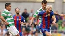 برشلونة يحسم مواجهة سيلتيك بثلاثية