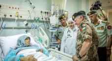 بالصور: الملك يفتتح مستشفى الملك طلال في المفرق