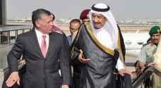 الملك يتوجه للمغرب للقاء العاهل السعودي