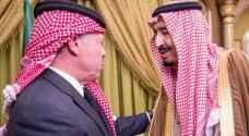 الملك وخادم الحرمين يؤكدان متانة العلاقات الأردنية السعودية