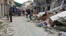 إيطاليا تعلن حصيلة أولية لقتلى الزلزال