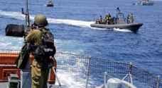 غزة: اعتقال صيادين ومطاردة مركب آخرين