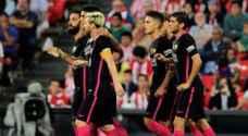 برشلونة يحقق الأهم والمغربي الزهر يقود لاس بالماس لفوز كبير
