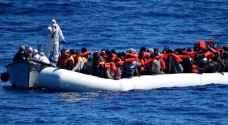 بريطانيا: إنقاذ 700 مهاجر في البحر المتوسط