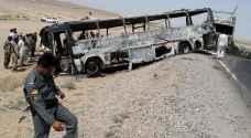 أفغانستان.. قتلى في اصطدام حافلة ركاب بصهريج وقود