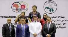 رولا خالد تخطف ميدالية ذهبية في بطولة رفع الأثقال
