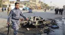 قتلى وجرحى فى انفجار سيارتين مفخختين بالعاصمة بغداد