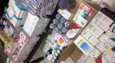 بالصور.. القبض على صيدلاني يبيع أدوية منتهيه بالزرقاء