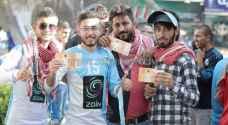 بالصور: الجماهير تتوافد إلى ملعب الحسن قبل نهائي الدرع