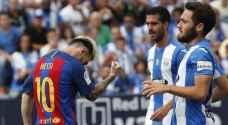 غضب برشلونة ينفجر في شباك ليجانيس
