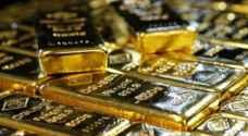 الذهب يتراجع بفعل مكاسب الدولار والأسهم