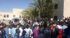 بالصور .. طلبة الهاشمية يبيتون بالجامعة احتجاجا على قرارات الادارة