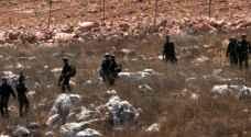 الاحتلال يصادر 138 دونما شمال سلفيت