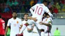 كوستا ونوليتو يقودان اسبانيا لفوز صعب في البانيا