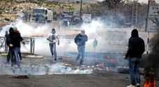 مواجهات مع الاحتلال شمال القدس المحتلة