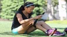 مصرة على الجري رغم إصابتها بالتصلب اللويحي