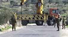 الاحتلال يغلق مدخل زبوبا غرب جنين