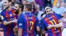 ميسي 'يعود' ورباعية لبرشلونة تنذر 'السيتزنز'