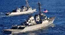 إطلاق صواريخ نحو 3 مدمرات أمريكية في البحر الأحمر