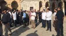 اقتحام مئات المستوطنين للمسجد الأقصى..صور