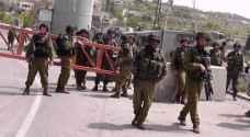 الإحتلال يغلق الضفة وغزة من منتصف الليلة وحتى الإثنين