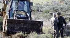 الاحتلال يمنع مزارعين شرق نابلس من دخول أراضيهم