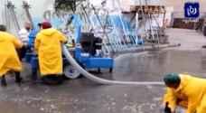 العقبة: شكاوى مواطنين من غرق المدينة عقب هطول كثيف للأمطار..فيديو